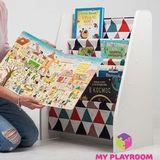 Детская полочка для книг в духе Монтессори 3