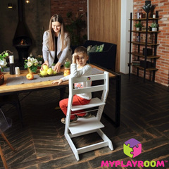 Растущий стул N1 MYPLAYROOM™ к обеденному столу