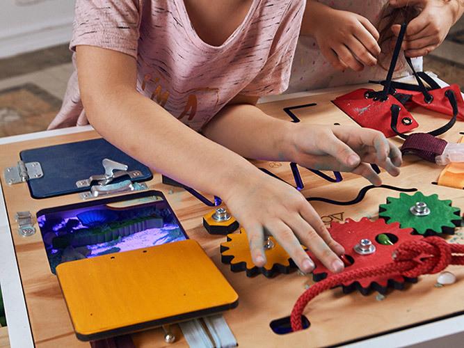 бизиборды для детей