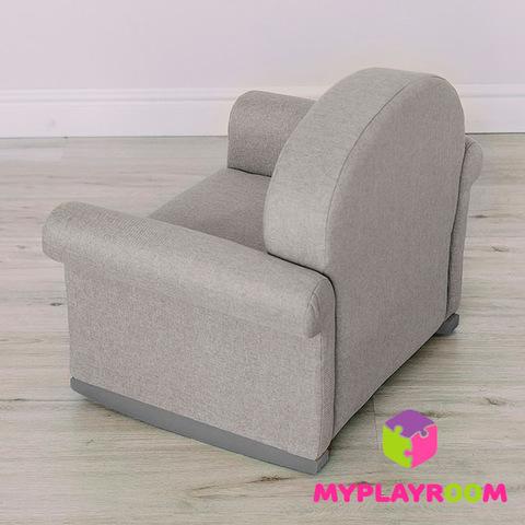 Детское мягкое кресло-качалка (мини-диванчик), Дымка 5