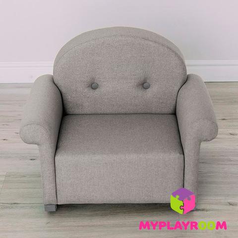 Детское мягкое кресло-качалка (мини-диванчик), Дымка 3