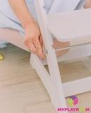 Растущий стульчик MYPLAYROOM™ к столу-песочнице, голубой 7