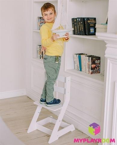 Растущий стульчик MYPLAYROOM™ к столу-песочнице, голубой 9