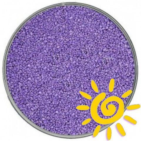 Кварцевый песок (для рисования), фиолетовый