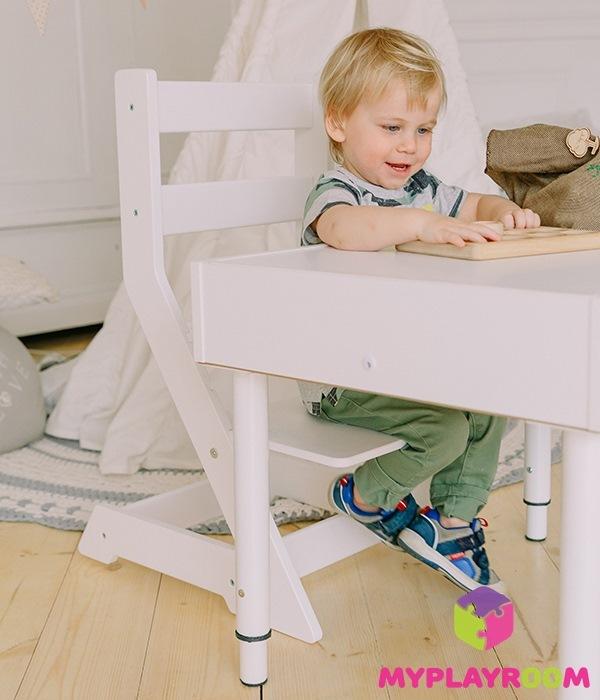 растущий стул и стол