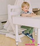 Растущий стульчик MYPLAYROOM™ к песочнице, белый 12