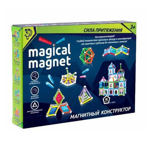 """Магнитный конструктор """"Magical Magnet"""", 90 деталей"""