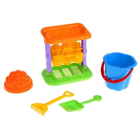 Набор для игр с песком, 5 предметов