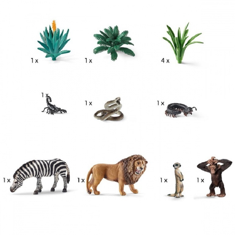 Набор детских животных