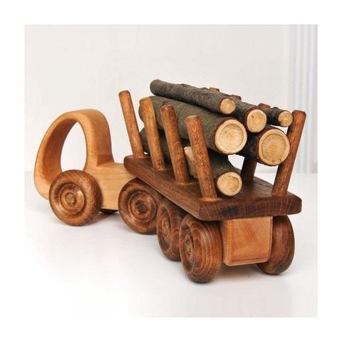 Деревянная машинка ручной работы