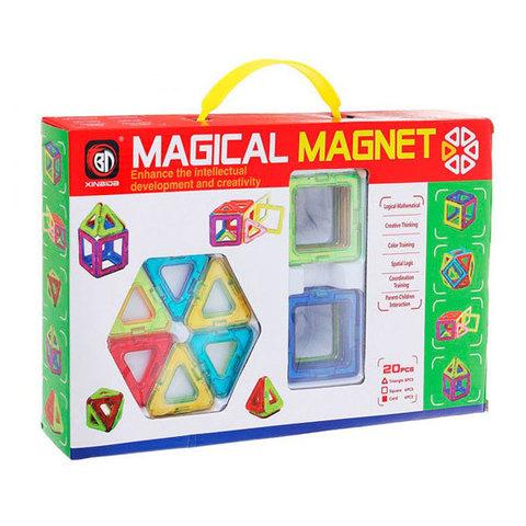 """Магнитный конструктор 20 деталей """"Magical Magnet"""""""