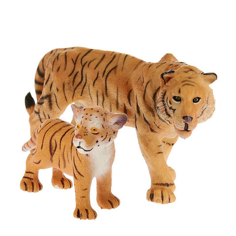 """Набор диких животных """"Тигр и тигренок"""""""