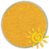 Кварцевый цветной песок (для рисования), желтый 1