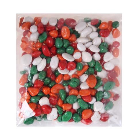 Набор цветных камешков для песочницы
