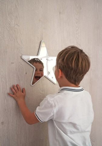 Безопасное зеркало для детской комнаты звезда 2