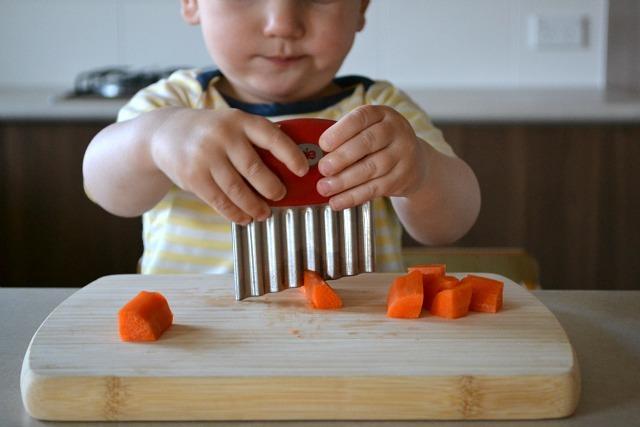безопасный детский нож по монтессори упж