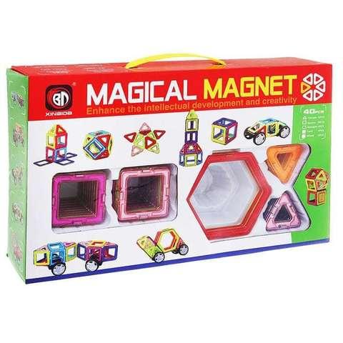 """Магнитный конструктор """"Magical Magnet"""" 40 деталей"""