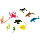 Игровой набор «Морские обитатели», 9 фигурок 1