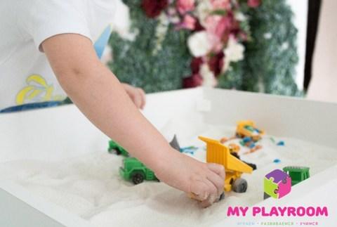Стол песочница для игры с песком 4 в 1 7