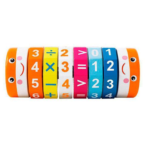 Арифметический цилиндрический деревянный Кубик Рубика 2