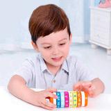 Арифметический цилиндрический деревянный Кубик Рубика 4