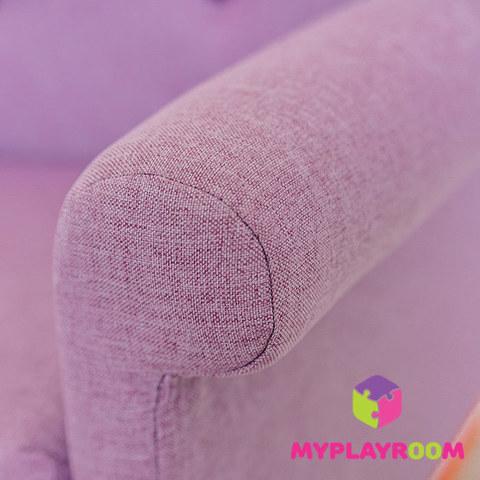Детское кресло-качалка (мини-диванчик), Лавандовое 8