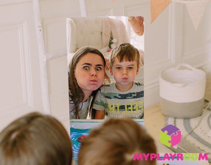 безопасное зеркало для детей