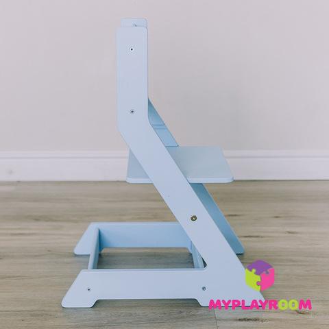 Растущий стульчик MYPLAYROOM™ к столу-песочнице, голубой 6