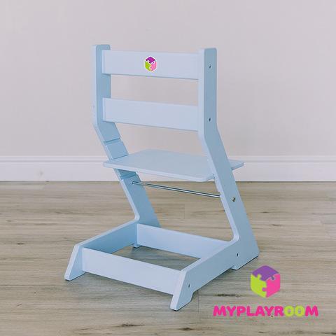 Растущий стульчик MYPLAYROOM™ к столу-песочнице, голубой 3