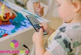 Световая песочница для LEGO от MYPLAYROOM™ с короткой столешницей 7в1 (открытый пенал) 11