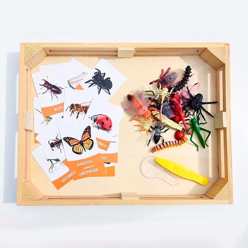 игрушки насекомые